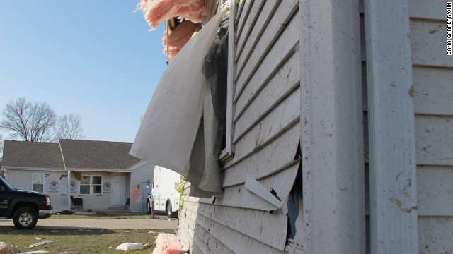 Up to 300 houses were damaged or destroyed in Harrisburg, authorities said. The tornado had a preliminary rating of EF4, the second most powerful on the rating scale, the National Weather Service said.
