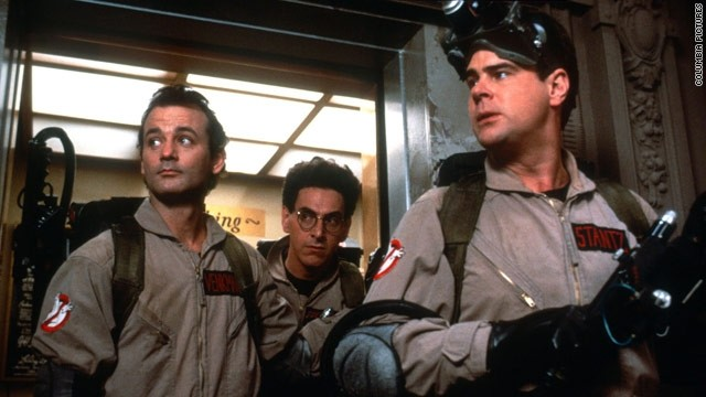 Bill Murray, Harold Ramis and Dan Aykroyd, starred in the film 