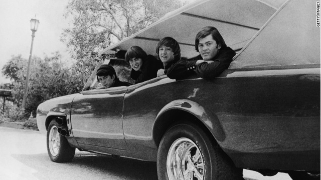 The Monkees, with Davy Jones second from left, in a promotional photo from 1970.