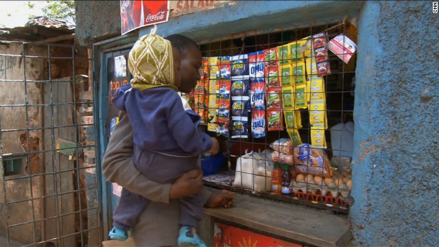  Robyn Curnow also traveled to Kibera in Kenya, one of the largest slums in Africa. She found these dirt streets and alleyways can actually be moneymakers for companies focusing on an often-overlooked consumer.