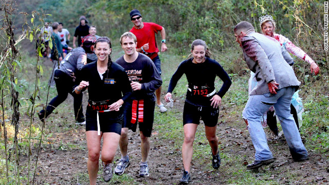 'Run For Your Lives': 5K puts racers in the middle of a zombie apocalypse