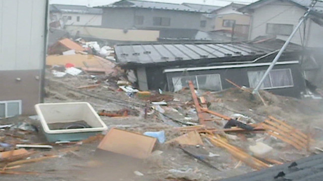 Mao Takahashi recorded moment tsunami struck his home town of Ishinomaki ...