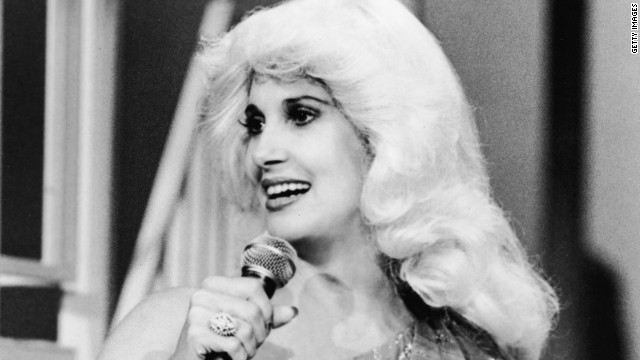 Tammy Wynette, pictured in 1980, received a boost when British band the KLF featured her on the 1991 hit &quot;Justifed and Ancient.&quot;