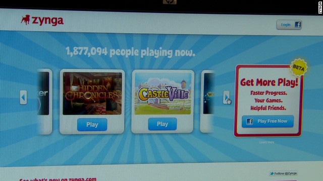Zynga, a social game developer, is launching its own gaming network: Zynga with Friends.
