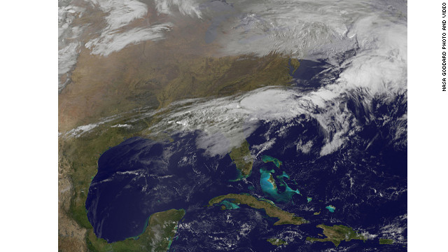 FOTO: Tormenta acecha a EE.UU.