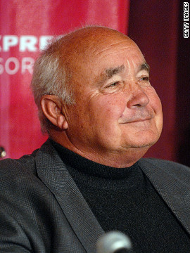 "Ervin Zador attending a press conference in 2006 for the documentary ""Freedom's Fury,"" which tells the story of Hungary's sporting and politcal match against the Soviets in 1956."
