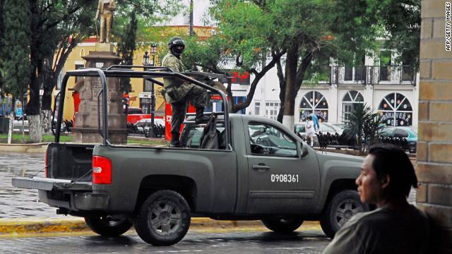 13 muertos durante enfrentamiento entre militares y delincuentes en México