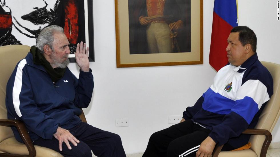 Chávez se recupera en Cuba