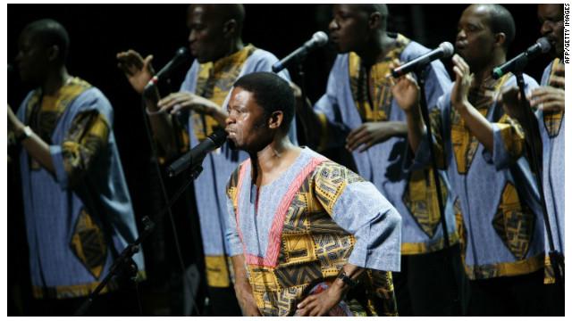El grupo musical Ladysmith Black Mambazo inspiró a Nelson Mandela