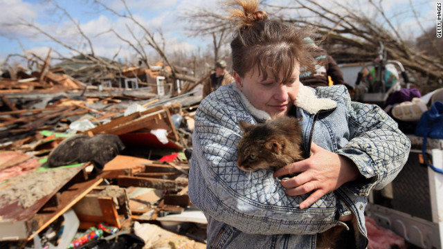 Need to Know News: Family dies, helpful neighbor survives after tornado ravages homes; Vladimir Putin declares victory