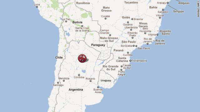 Sismo de magnitud 6,1 sacude a Argentina