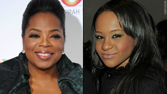 Oprah to interview Bobbi Kristina, Houstons
