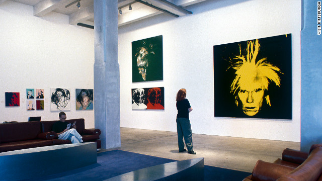 Pittsburgh is also home to the Andy Warhol Museum.