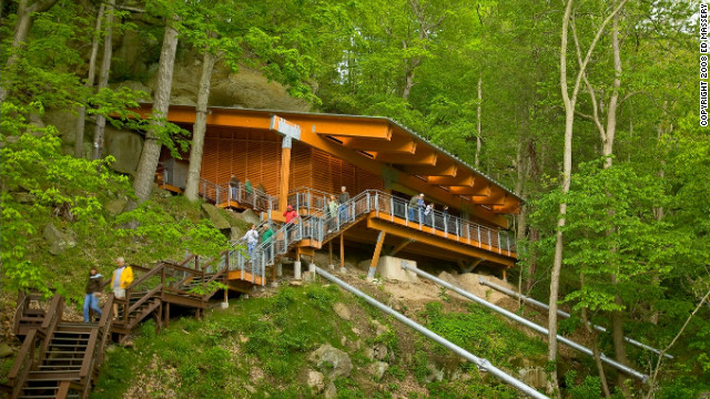 About an hour outside of Pittsburgh is the Meadowcroft Rockshelter, the oldest site of human habitation on the North American continent.