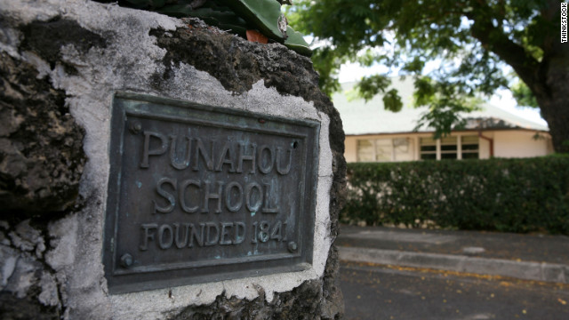 President Barack Obama attended Punahou School in Honolulu.