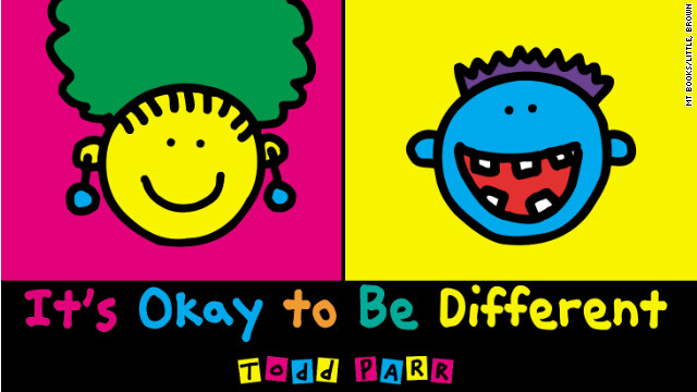 In Todd Parr's world, differences are beautiful and celebrated.