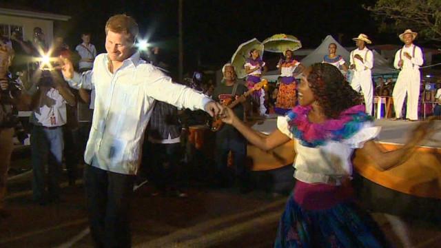 El príncipe Harry está de tour por el Caribe