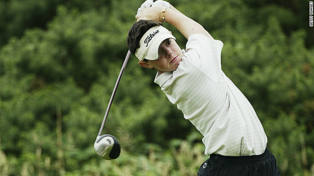 Rory McIlroy has risen to the top of golf's world rankings after winning the Honda Classic in Florida on Sunday. It caps a remarkable rise for the 22-year-old Northern Irishman in recent years. Here he is as a 14-year-old playing at the Boys Home Internationals at the Royal St David's Golf Club in Wales in August 2003.