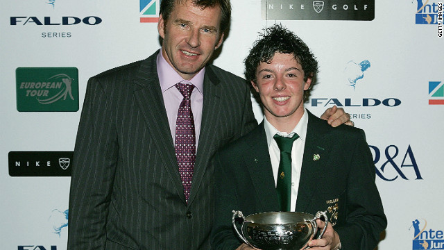 McIlroy got into the winning habit early, finishing top in the Under-15 boys competition of Nick Faldo's junior golf series in 2004. The following year he would shoot a course record 61 at the Dunluce links at Royal Portrush Golf Club in Northern Ireland. His astonishing eleven-under par total included nine birdies and an eagle.