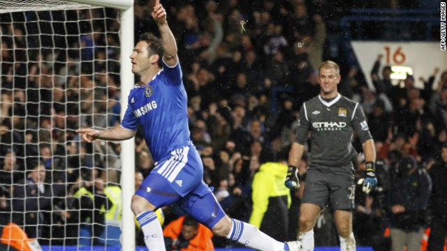 Despite their stuttering form, Chelsea became the first team to inflict a Premier League defeat on Manchester City this season. Frank Lampard, who started December's match on the bench, earned a 2-1 win for Chelsea with a late penalty.