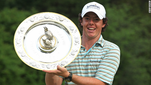 McIlroy claimed his first PGA Tour victory at the Quail Hollow Championship thanks to a stunning final round of 62 in May 2010. 