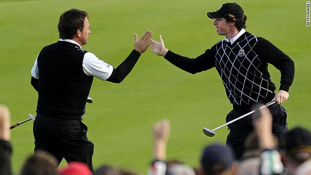 His debut in the Ryder Cup was equally successful as Europe beat the U.S. team at Celtic Manor Resort, Wales in October 2010. His paring with fellow countryman Graeme McDowell was one of the highlights of the match. 