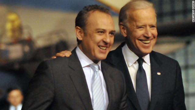 El vicepresidente Joe Biden inicia su visita oficial a México