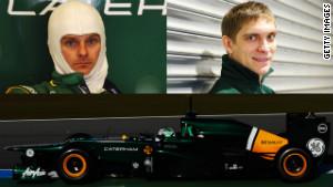 Heikki Kovalainen and Vitaly Petrov