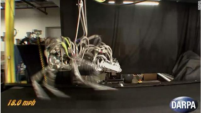 «Cheetah», el robot más veloz del mundo rompe récord