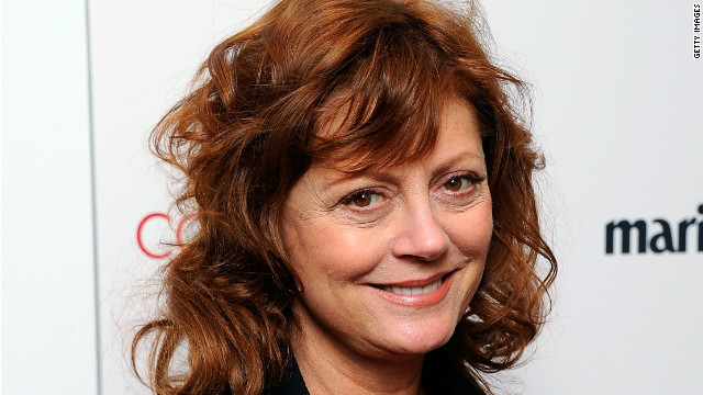 Susan Sarandon on aging gracefully