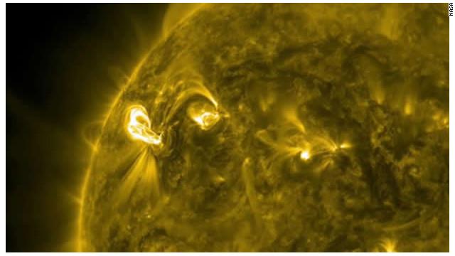 Una erupción solar envía plasma y partículas radiactivas a la Tierra