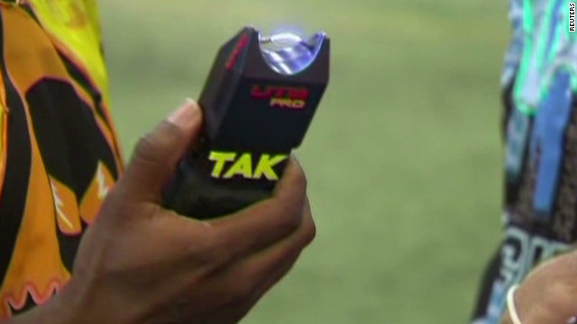 Gotta Watch:  Stun guns in newest extreme sport