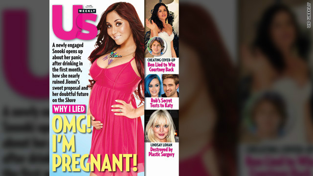 Yep, Snooki's pregnant - and engaged