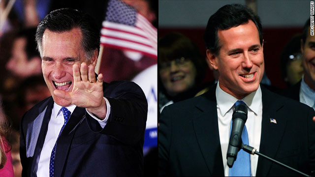 Romney wins 6 states, but Santorum draws conservative support