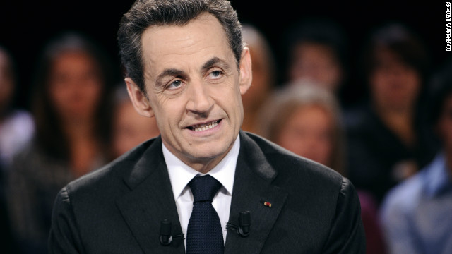 France's Sarkozy denies taking money from Gadhafi
