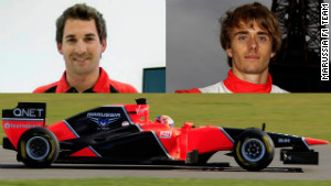 Timo Glock and Charles Pic