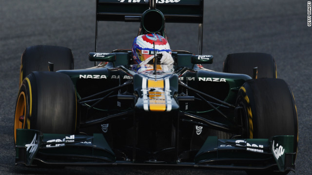Russia's Vitaly Petrov came 10th in last season's drivers' standings with 37 points.