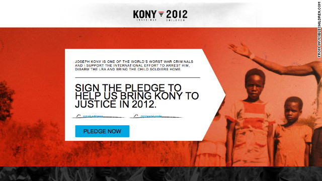 'Stop Kony' video goes viral, puts spotlight on Ugandan warlord
