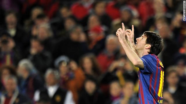Cinco goles de Messi aplastan al Bayer Leverkusen en la Liga de Campeones