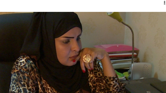 "Rawda Al-Youssef, pictured, runs a campaign called ""My Guardian Knows What's Best For Me"" arguing men and women have complementary but not equal roles. She says women who campaign for more rights are a pampered minority who have no real problems."
