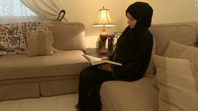 Samar Badawi, pictured, served seven months in jail for refusing to return to her abusive father. She fell foul of Saudi Arabia's guardianship laws but was released after an online campaign. 