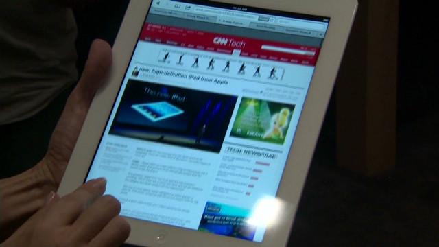 La nueva iPad «encanta» a los críticos con su pantalla de alta resolución