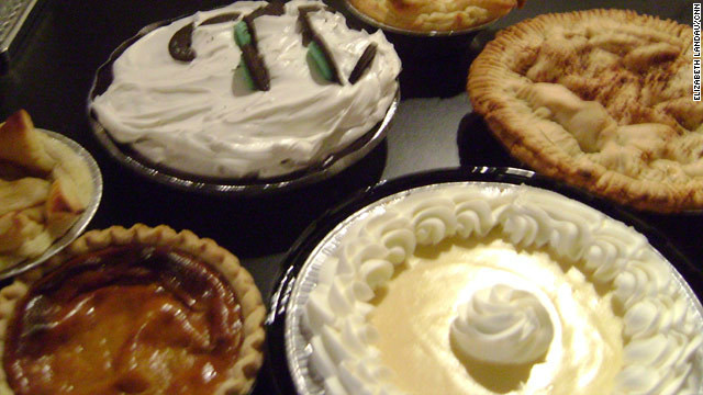 &lt;a href='http://eatocracy.cnn.com/2012/03/14/national-pie-day/'&gt;CNN's Eatocracy blog&lt;/a&gt; has lots of pie recipes for you to try. Pi Day is also Albert Einstein's birthday.