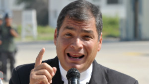 Ecuadorean President Rafael Correa has accused his older brother of corruption.
