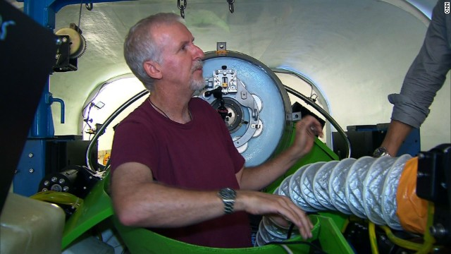 Oscar-winning director James Cameron traveled to the deepest known point in the world's oceans.