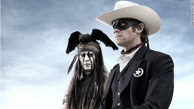 First look at 'The Lone Ranger'