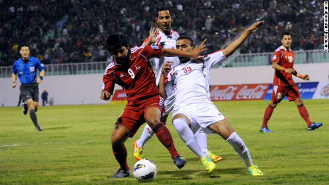 Palestine took on Nepal in opening game of the AFC Challenge Cup on Thursday. The winner of the tournament will earn a place at the 2015 Asian Cup in Australia.