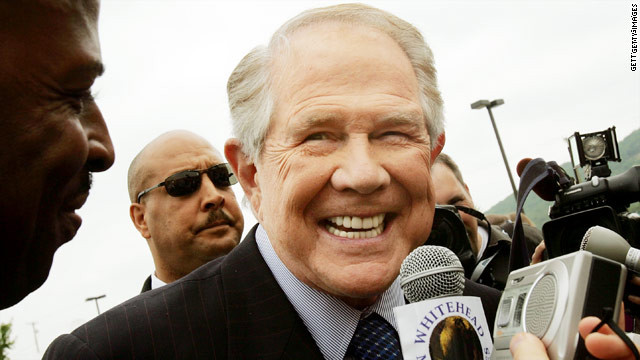Televangelist Pat Robertson says he'd like a