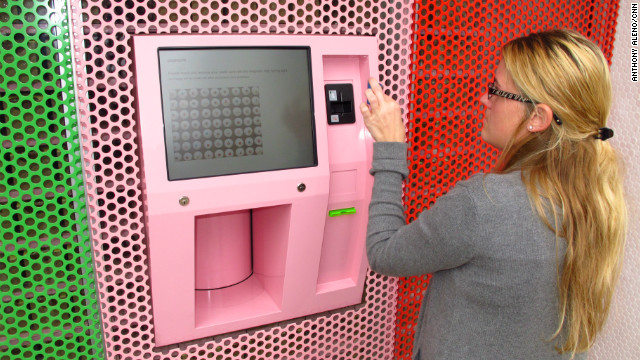 Cupcake ATM vends sweet treats around the clock