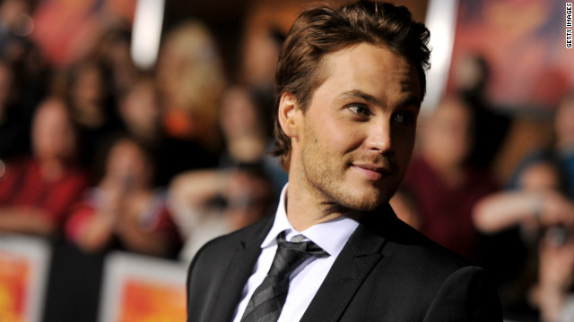 When reached by The Los Angeles Times about playing Finnick, Taylor Kitsch had a terse response: